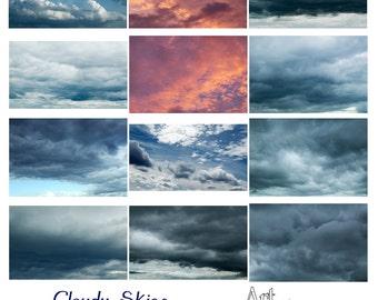 Cloudy Skies Overlay Set