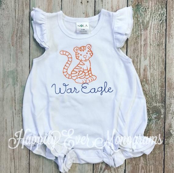 Vintage Stitched Tiger Bubble - Auburn - LSU