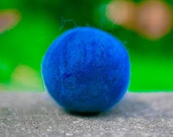Fetch2.0!  Alpaca Dog Toy Ball in Summer Blue Dark