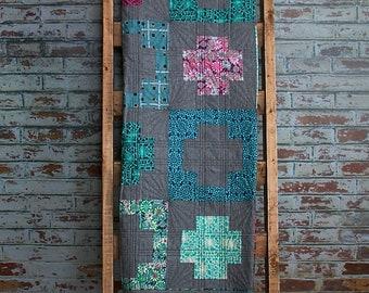 Handmade Linen/Cotton Quilt
