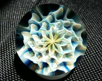 "1.49"" Handmade Marble by ~Ethan Lesch~  Borosilicate, Boro, Art glass, MIB"