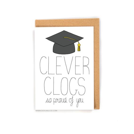 Graduation Card Congratulations On Your Graduation Funny Etsy