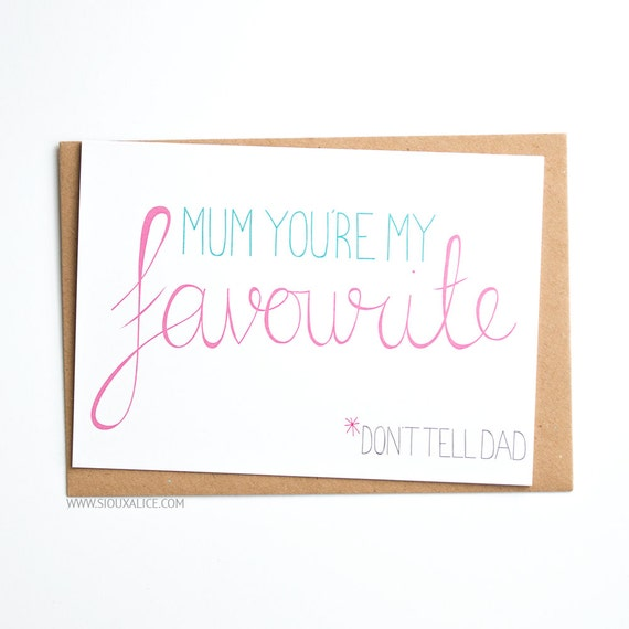 Moeder Verjaardag.Moeders Dag Kaart Uk Wenskaart Verjaardag Van Moeder Moeder Moeder Favoriet Dag Sioux Alice Liefde Leuke Liefde Kaart Voor Haar Moeders