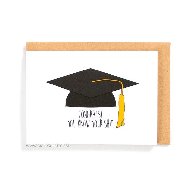 8396167617 Biglietto di laurea Congratulazioni per la tua laurea | Etsy