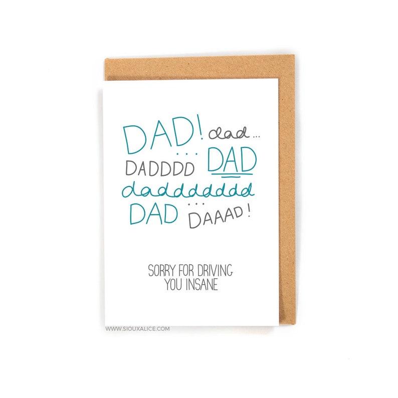 Grappig Vaders Dag Kaart Papa Kaart Gelukkige Verjaardag Etsy