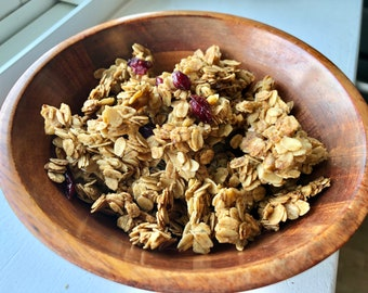 Pumpkin Spice Granola   Healthy Fall Flavored Granola   Food Gift for Family and Friends   Limited Edition for Fall 2021