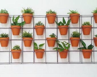 Vertical garden plant frame