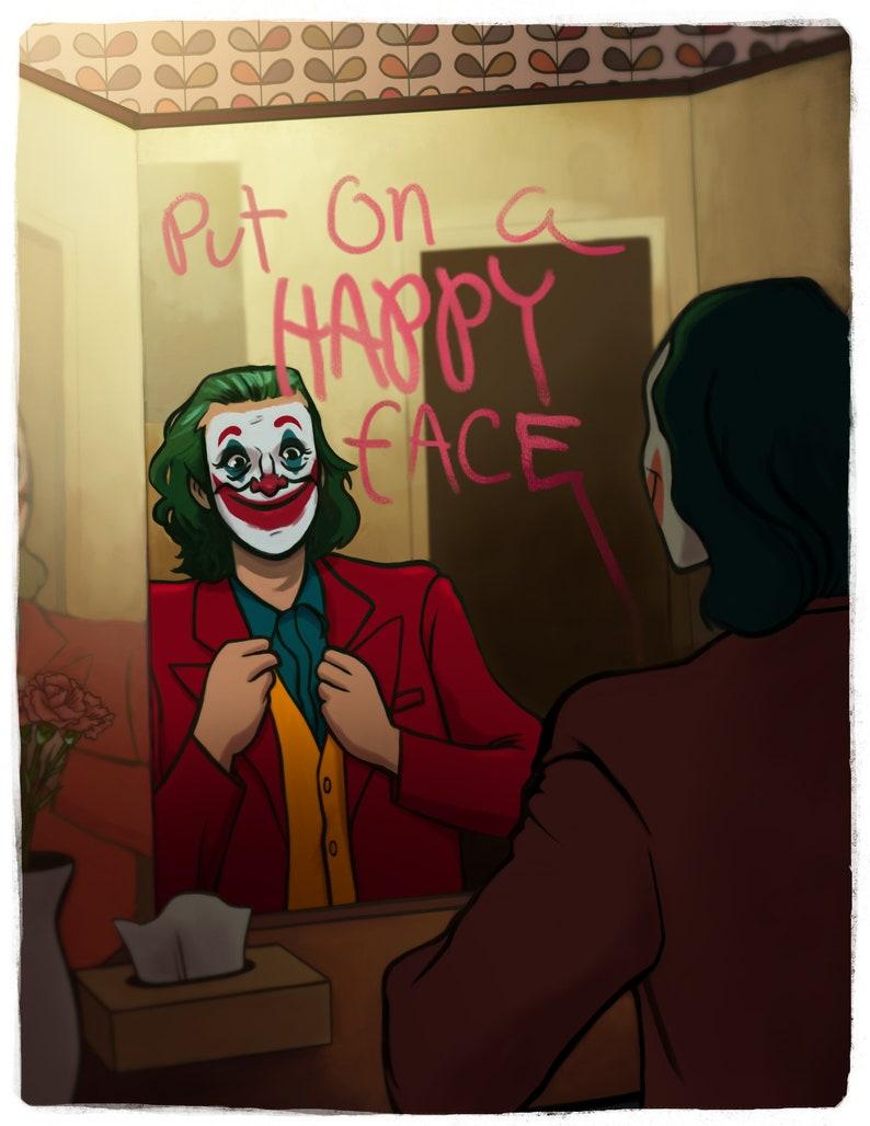 JOKER D.C. Comics Put on a Happy Face limited image 0