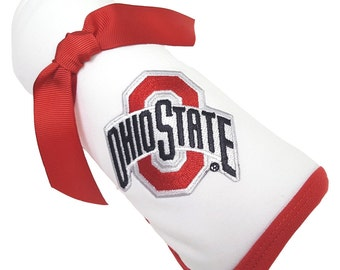 Ohio State Buckeyes Baby Receiving Blanket