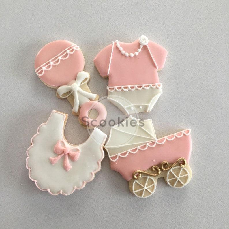 Baby Shower Cookiesit S A Girl Cookies Baby Girl Etsy