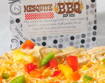Mesquite BBQ Dip Mix