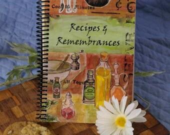 Recipes & Remembrances Cookbook-On Sale!