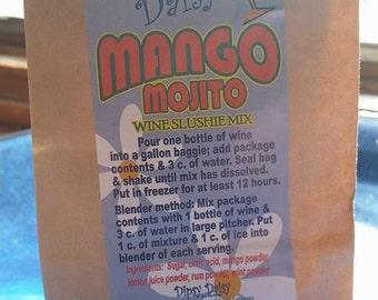 Tipsy Daisy-Mango Mojito Wine Slushie Mix