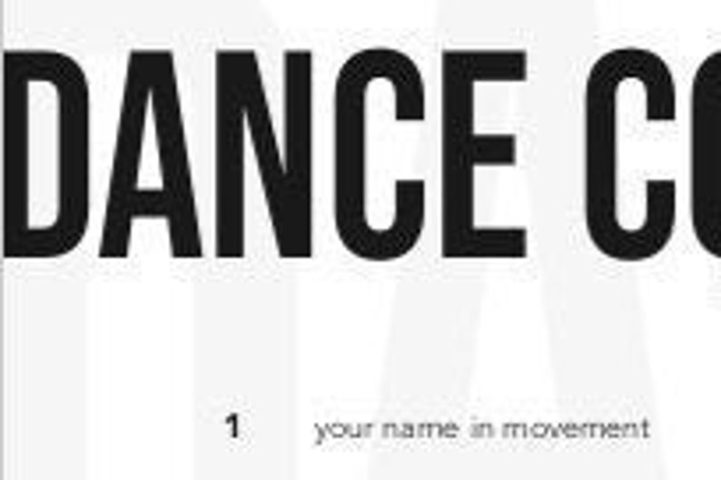 Prompt List: Dance Comp 101 image 0
