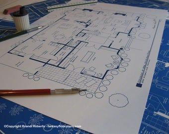 Richard castle apartment blueprint tv show floor plan home bree van de kamp home tv show floor plan wisteria lane fairview malvernweather Gallery