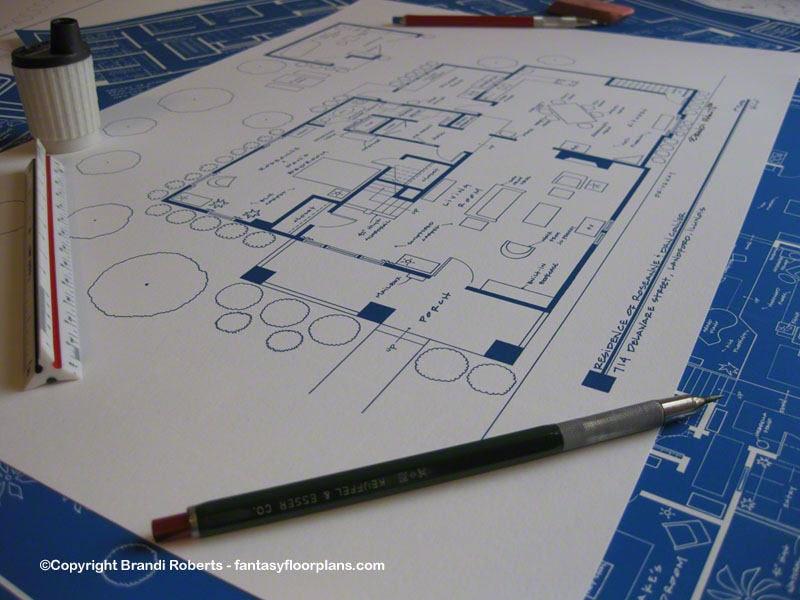 Charmed Floor Plan Halliwell Manor Tv Show Blueprint 1329 Etsy