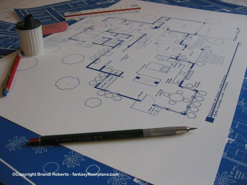 Susan Mike Delfino Home Tv Show Floor Plan Wisteria Lane Etsy