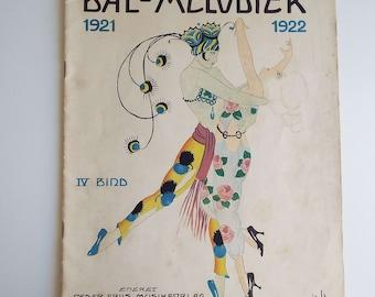 Rare Vintage Danish 1922 Bal-Melodier Magazine Sheet Music Score & Parts For Balls Dances 1920's Flappers Gatsby Fox Trot Waltz