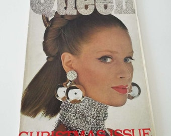 Vintage November 1966 Queen Magazine High Society Fashion Design Architecture Beauty David Anthony Cover 1960's Magazine