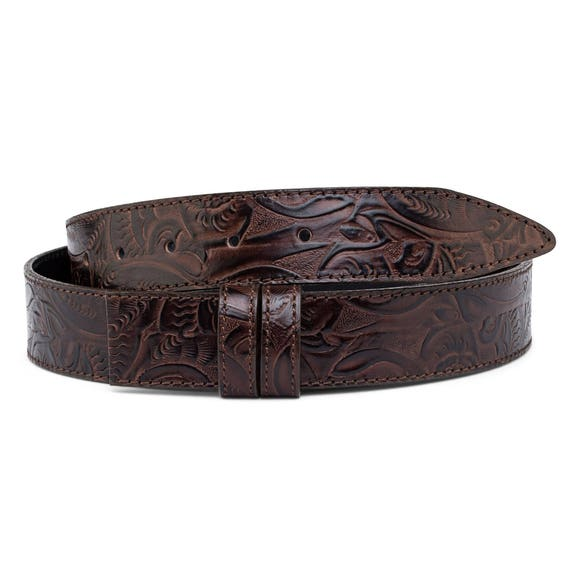 Mens Cowboy Belts Antique silver belt buckles Western Cowgirl Italian leather