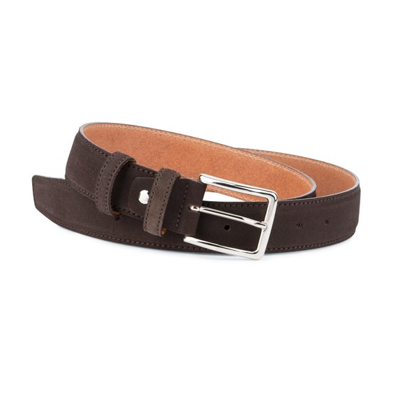 Retro Simplicity-Brown Mens Casual Leather Belt Belts