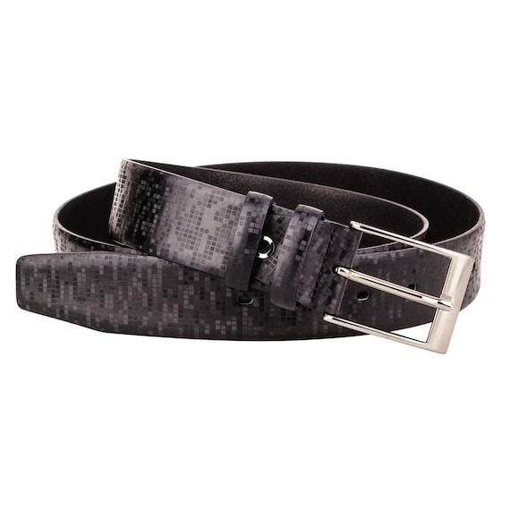 Hologramme homme ceinture cuir Designer de ceintures pour   Etsy d4f17185334