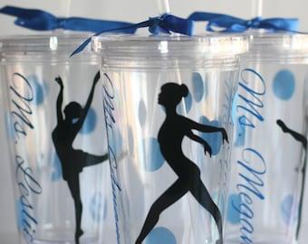 Dancer Gift, Tumbler for Dancer, Ballet Dancer, Jazz Dancer, Dance Teacher Gift, Dance Recital Gift