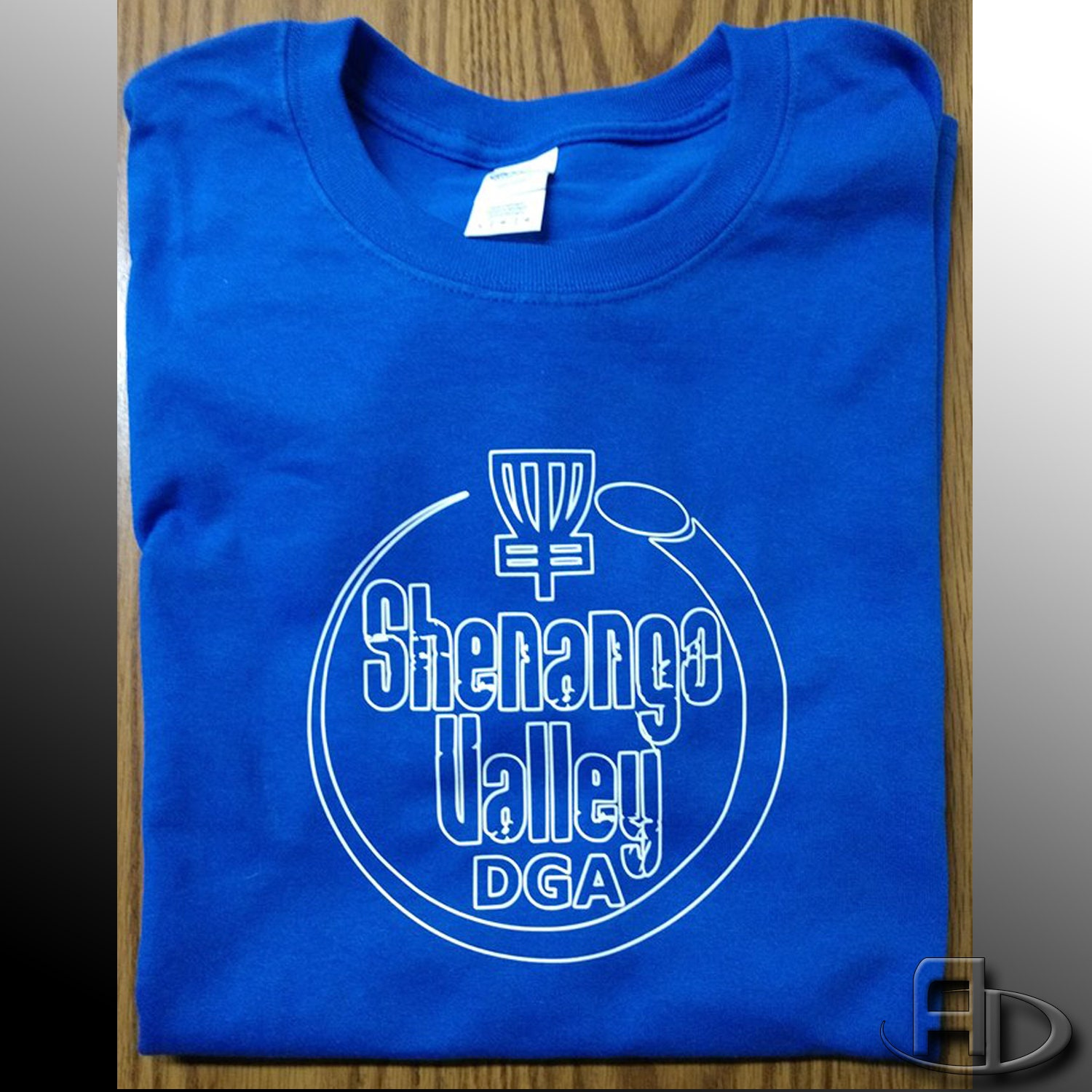 Shenango Valley Disc Golf Alliance Ls Cotton Blend Long Sleeve T