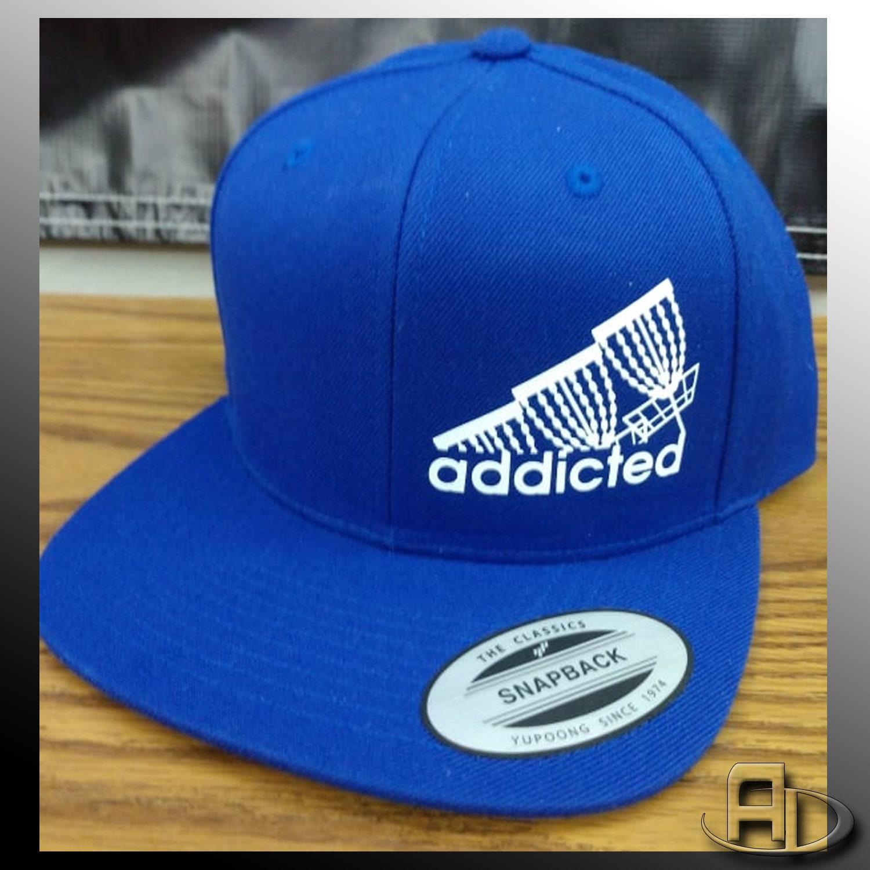 a851cbac1 Snap Back (FlatBill) - Disc Golf Addicted - FlexFit/Yupoong Brand ...