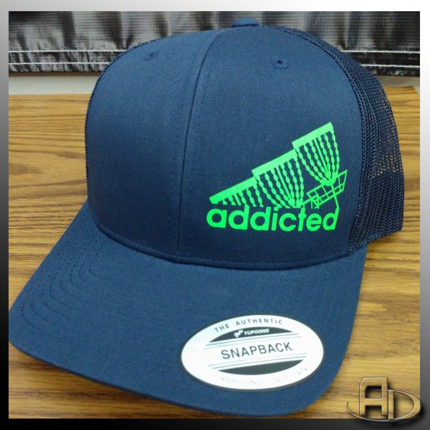 2d76d96ad Snap Back - Disc Golf Addicted - FlexFit / Yupoong Brand Snap Back ...