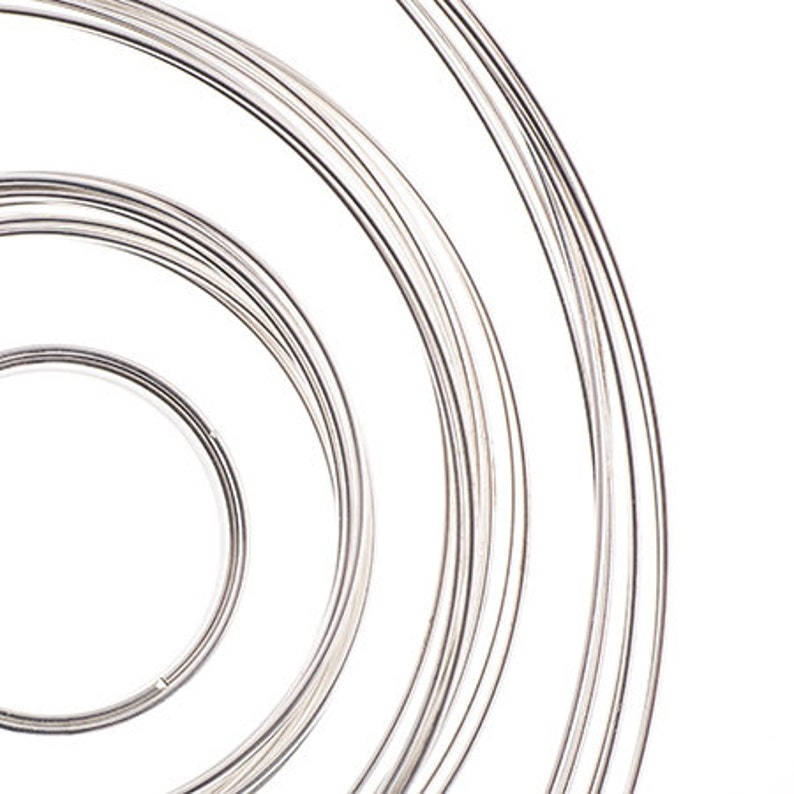 Beadalon Memory Wire Kit  .50oz Silver Canadian Bulk Buy Assorted Sizes