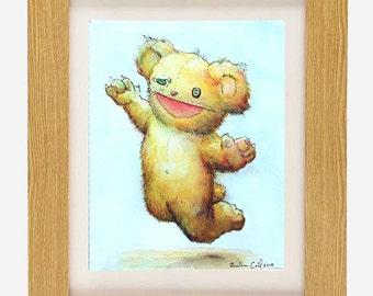Shreddy Bear limited edition archival fine art print