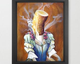 Sigarette limited edition archival fine art print