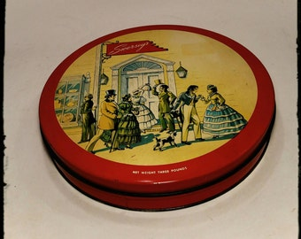 Collectible Swerseys Chocolate Tin/ Kosher Foods Tin/ Huyler's Candy Co/Kitchen Decor/Storage Tin/Gift Tin/Best Gift Idea  / F1496