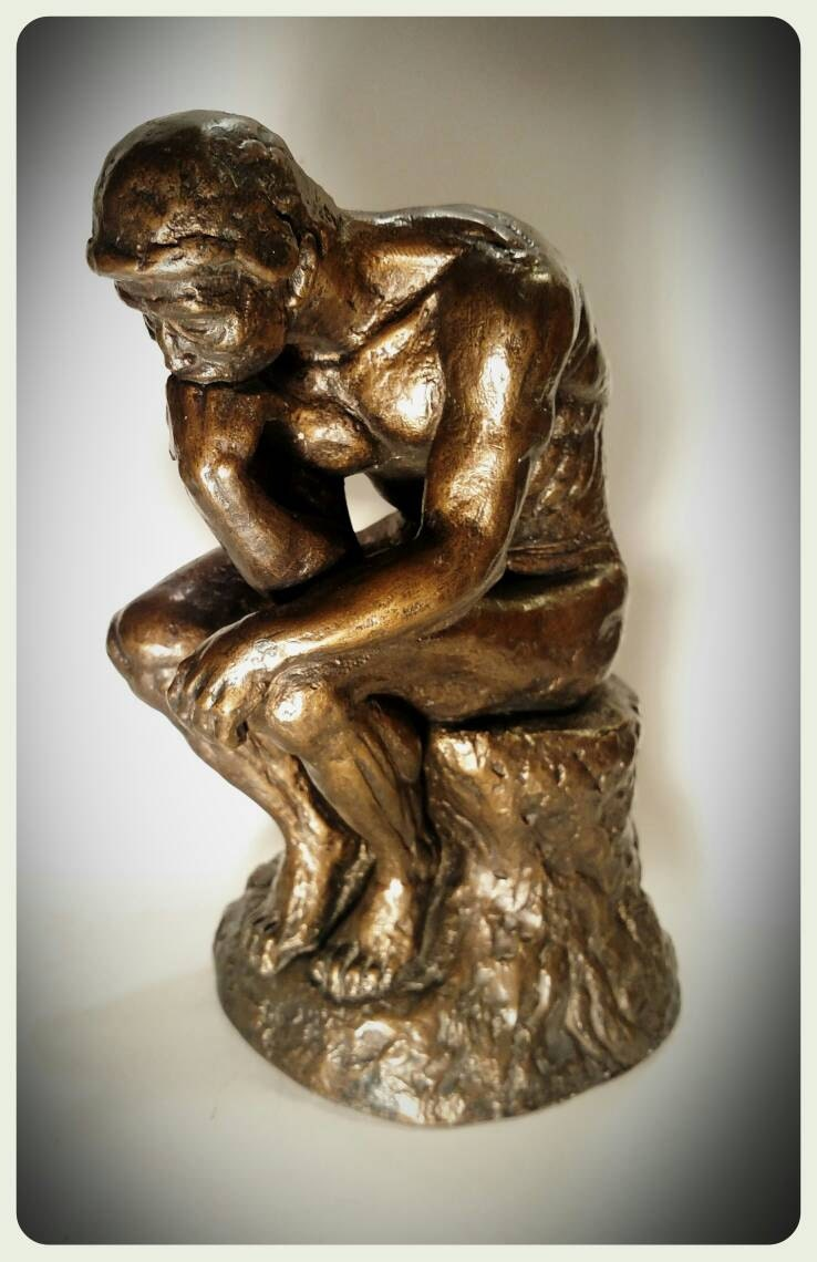 Collectible Austin Prod Inc The Thinker 1963/Rodin Replica of