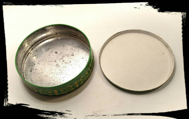 Vintage Hunter /& Palmers Ginger Nuts Tin  John Ginger Nut Biscuit Tin  Storage Tin Collectible TinGift TinBest Gift Idea F1455
