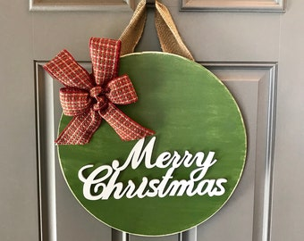 Christmas Door Decor Etsy