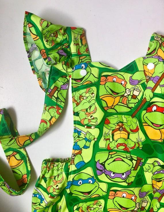 TODDLER Boys Teenage Mutant Ninga Turtles Mittens//Hat Lot//Set New Sz 2T-3T-4T
