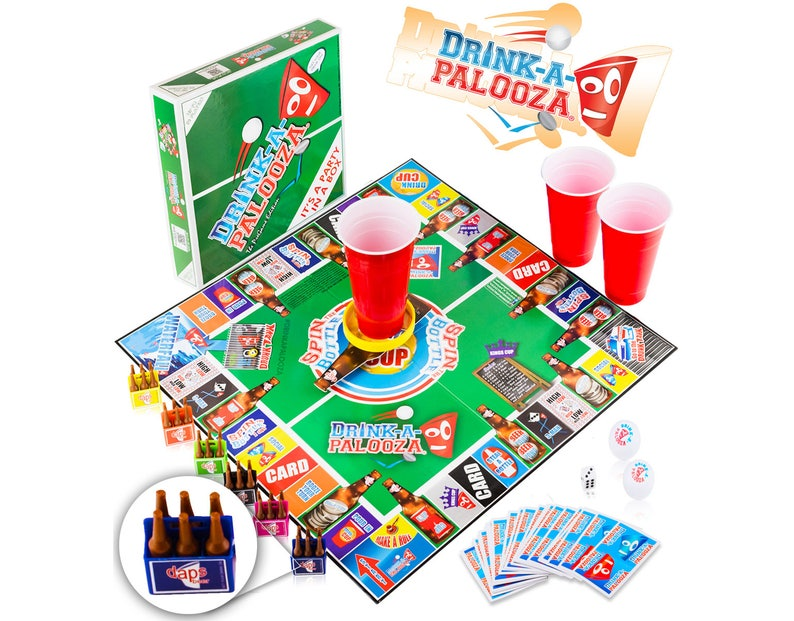 DRINK-A-PALOOZA Party Board Game: combines image 0
