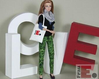 """Stoffbeutel für 12"""" Fashion Dolls"""