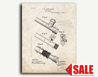 Patent Print - Fire Escape Patent Wall Art Poster