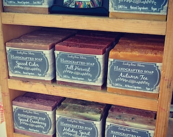 Mystery Soap Sale 10 bars FREE SHIPPING