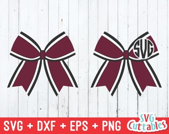 Cheer Bow Svg Eps Dxf Cheer Bow Cheerleader Bow Svg Bow Etsy