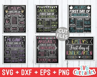 First Day of School svg Bundle - Last Day of School - svg - eps - dxf - png - Star svg - Cut File - Silhouette - Cricut - Digital Download