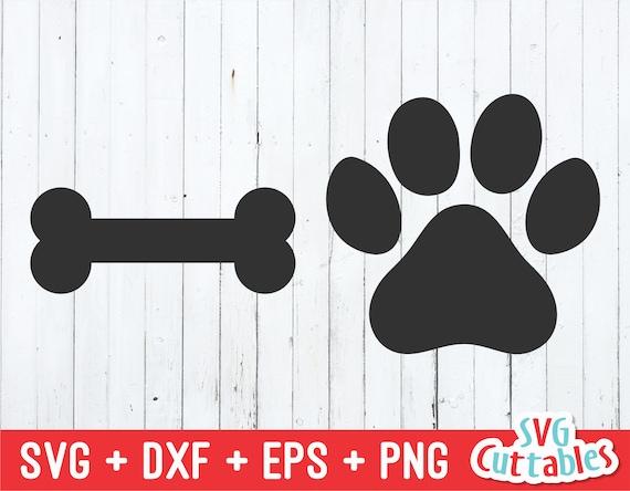 Paw dog svg Dog cut file Paw prints svg Pet svg Dog svg Dog house svg Bone svg Paw prints cut file Dog paw vector Paw dog file for Cricut