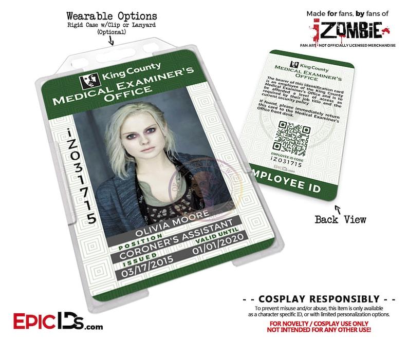 231c40e5e29ad IZombie TV Series Inspired King County Medical Examiners