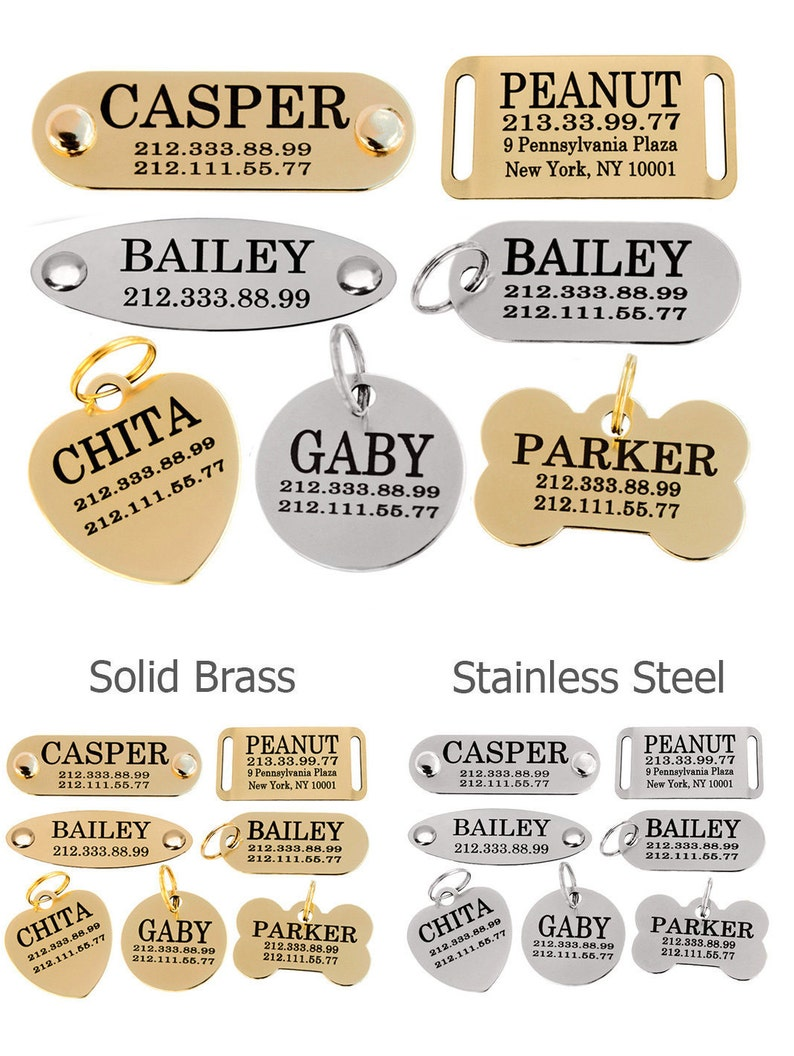 Personalized Dog Tag Dog ID Tag Dog Tags for Dogs image 0