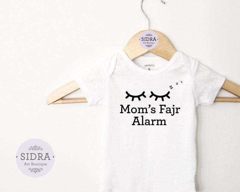 d37cb75b23791 Fajr alarme Body maman musulmane vêtements de bébé Baby
