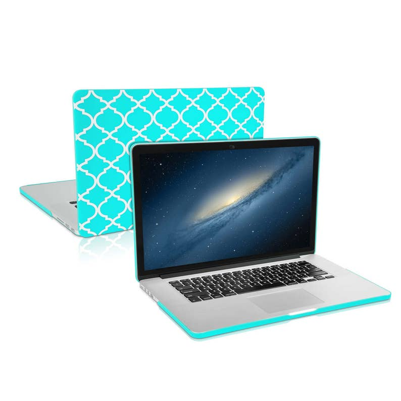 "Quatrefoil Moroccan Matte Hard Case for Macbook PRO 15/"" Retina A1398"