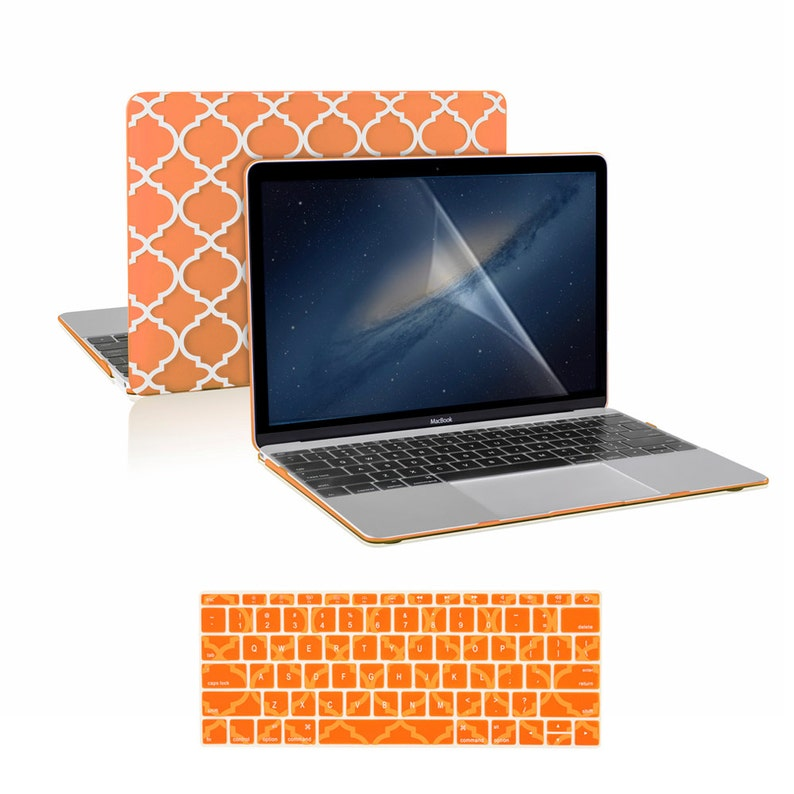 """3in1 ROYAL BLUE Rubberized Case for Macbook Pro 13/"""" A1425 Retina display+Key+LCD"""